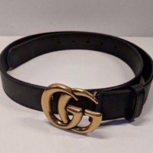 Gucci Gold Marmont Belt